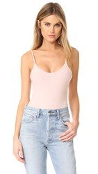 Atm Anthony Thomas Melillo Modal Rib Cami Bodysuit Blush