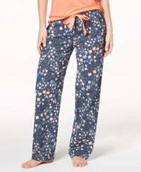 By Jennifer Moore Printed Soft Cotton Pajama Pants Created For Macy's Falling Floral