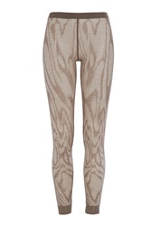 Missoni Sheer Leggings With Wool Grey