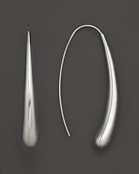 Bloomingdale's 14K White Gold Long Teardrop Earrings No Color