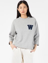 Wood Wood Light Grey Hope Sweater