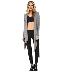 Alternative Apparel Wrap It Up Eco Grey Women's Workout Gray