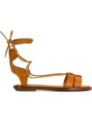 Ralph Lauren 'Renny' Sandals Brown
