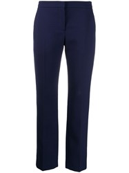 Alexander Mcqueen Stripe Detail Tailored Trousers 60