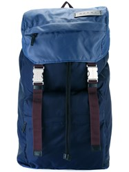 Marni Dual Buckle Backpack Blue