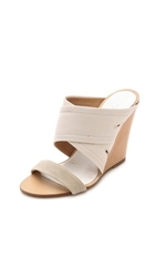 Rag And Bone Shaw Mules Natural Canvas