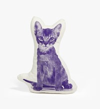 Areaware Abyssinian Kitten Cat Mini Cushion