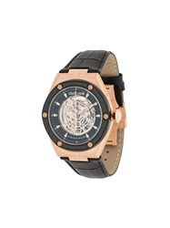 Roberto Cavalli X Frank Muller Rc 65 Analog Watch Black