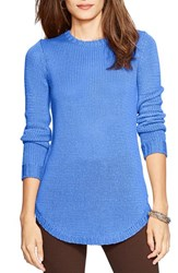 Women's Lauren Ralph Lauren Crewneck Sweater Andover Blue
