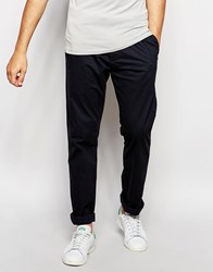 French Connection James Slim Fit Chino Trousers Navy