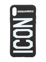 Dsquared Icon Iphone X Case Black White