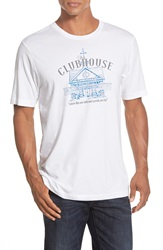 Travis Mathew 'The Clubhouse' Short Sleeve T Shirt White