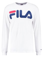 Fila Long Sleeved Top Bright White