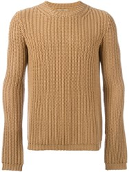 Nuur Ribbed Jumper Brown
