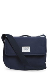 Barbour Tarras Canvas Messenger Bag Blue