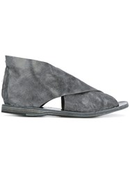 Officine Creative Wrap Front Sandals Grey