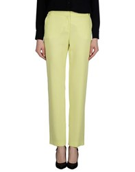 1 One Trousers Casual Trousers Women Acid Green