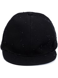 Givenchy Distressed Cap Black