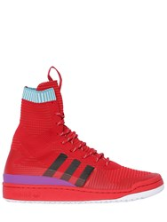 Adidas Forum Adventure High Top Sneakers Red