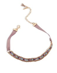 Lonna And Lilly Beaded Choker Necklace Multi