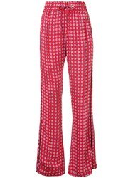 Baum Und Pferdgarten Pearly Pills Print Trousers Red
