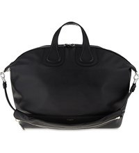 Givenchy Nightingale Leather Tote Black