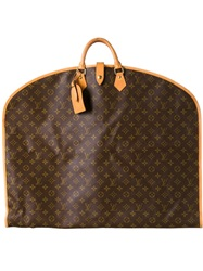 Louis Vuitton Vintage Garment Cover With Handles Brown