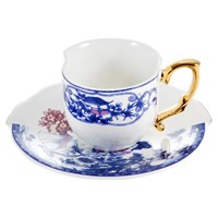 Seletti Hybrid Eufemia Coffee Cup And Saucer