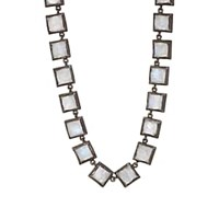 Nak Armstrong Rainbow Moonstone Necklace Silver