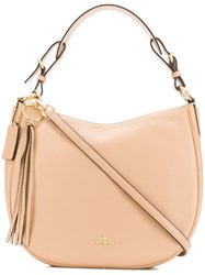 Coach Sutton Hobo Tote Neutrals