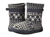 Woolrich Whitecap Knit Boot Charcoal Snowshoe Sweater Women's Boots Black