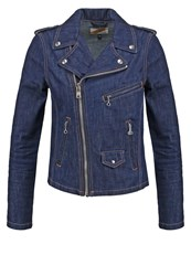 Schott Nyc Denim Jacket Indigo Dyed Denim