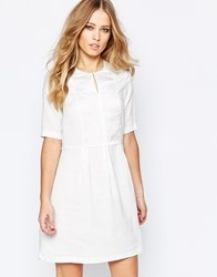 Y.A.S Wonar Short Sleeve Dress White