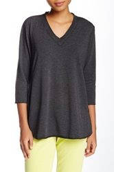 Central Park West The Azam V Neck Tee Black