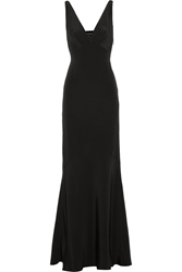 Narciso Rodriguez Cutout Silk Crepe Gown