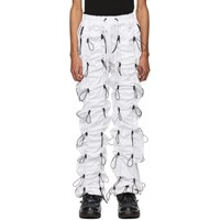 99 Is White Gobchang Trousers