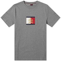 Tommy Jeans Flag Logo Tee Grey