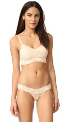 Cosabella Never Say Never Soft Padded Bra Blush