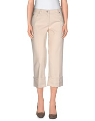 Michael Kors Trousers 3 4 Length Trousers Women Beige