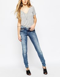 Noisy May Eve Low Rise Super Slim Detail Jeans A24jnm