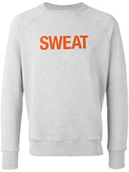 Ron Dorff Sweat Screen Print Sweatshirt Grey