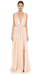 J. Mendel Kaia Gown Champagne