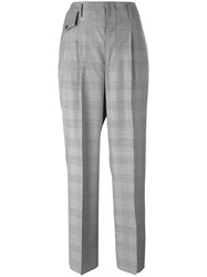 Golden Goose Deluxe Brand Prince Of Wales Check Trousers Black