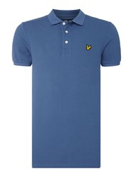 Lyle And Scott Men's Short Sleeve Classic Polo Blue