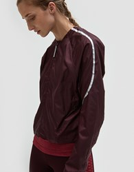 Adidas By Stella Mccartney Run Adz Jacket Dark Burgundy