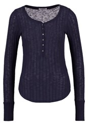 Abercrombie And Fitch Cozy Jumper Navy Dark Blue