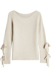 81 Hours Pullover With Superfine Wool And Cashmere Beige