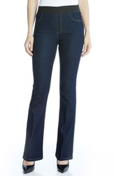 Karen Kane Women's Pull On Bootcut Jeans Denim