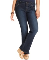 Lucky Brand Plus Size Ginger Bootcut Jeans Randelman Wash