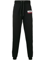 Moschino Loose Track Trousers Black